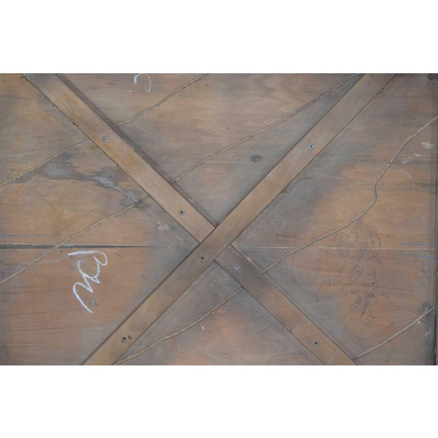Milo Baughman Burl Wood Parquet Card or Dining Table For Sale - Image 10 of 13