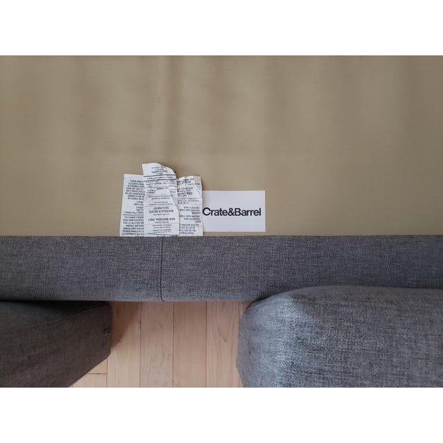 Crate & Barrel Aidan Sofa For Sale In New York - Image 6 of 7