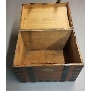 Late 1800s Oak Silver Trunk Preview