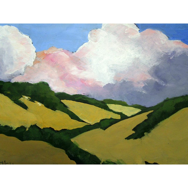 2020s California Malibu Hills Morning Clouds Landscape Lynne French For Sale - Image 5 of 7