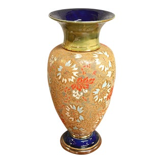 Traditional Doulton Lambeth Vase For Sale