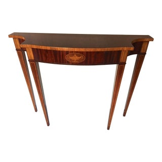 Hepplewhite Councill Console Table For Sale