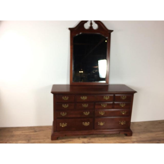 Chippendale Antique Georgian Style Dresser For Sale - Image 3 of 7