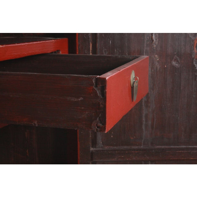 Ming-Style Wedding Cabinet For Sale - Image 9 of 11
