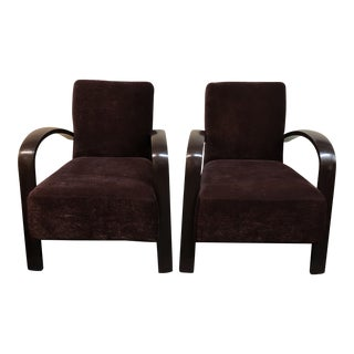 Vintage Martini Armchair, a Pair For Sale