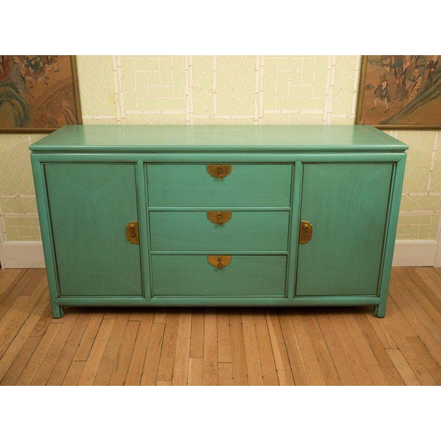 Thomasville Turquoise Chest - Image 5 of 11