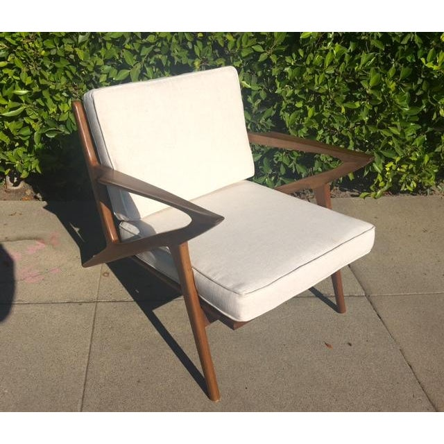 """Mid-Century Modern Style """"Z"""" Chair - Image 3 of 5"""