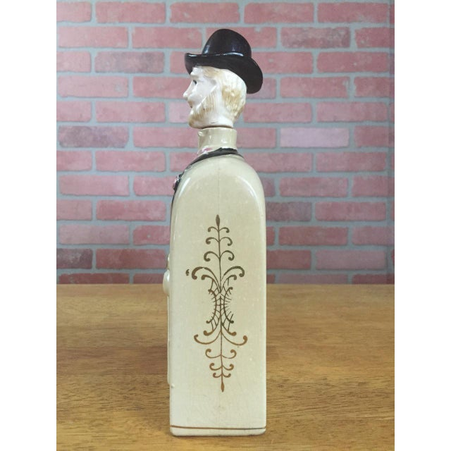 Southern gentleman bourbon decanter. What a fun way to add some 50' kitsch to your man-cave or barware. The decanter is...