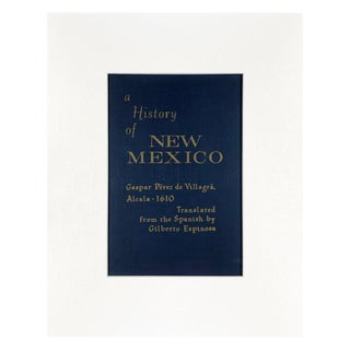Vintage New Mexico Book Cover Art For Sale