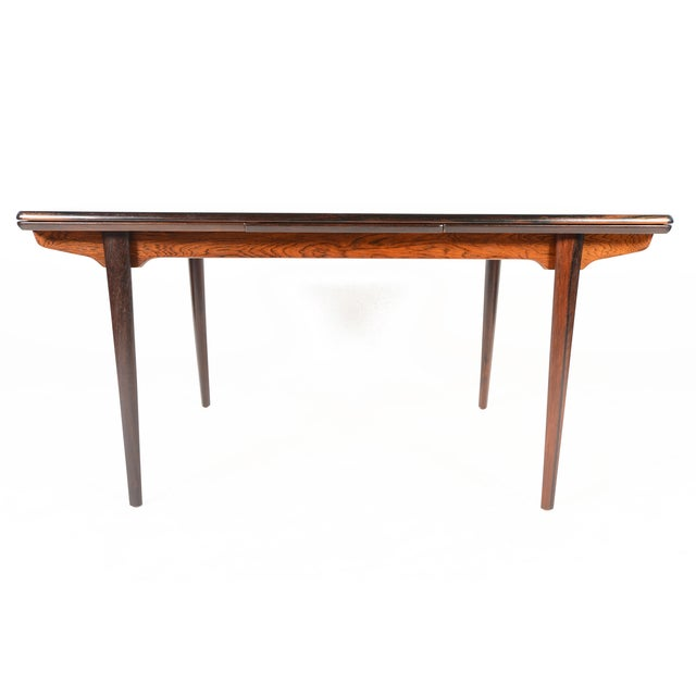 Brazilian Rosewood Draw Leaf Dining Table - Image 4 of 11