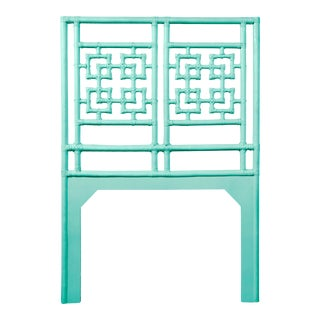 Palm Springs Headboard Twin - Turquoise For Sale
