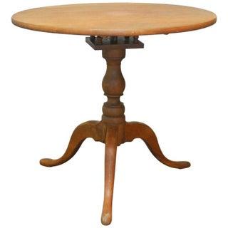 Georgian Mahogany Tilt-Top Birdcage Tea Table