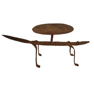 Lobi Iron Lizard Stool For Sale