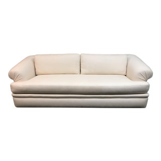 A.Rudin Off-White Upholstered Sofa