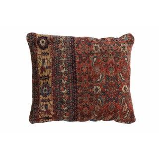 Antique Bijar Floor Pillow For Sale