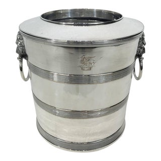 Regency Sheffield Plated Wine Bucket