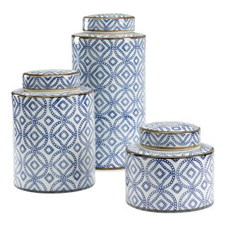 Thelma Canisters, Set of Three For Sale