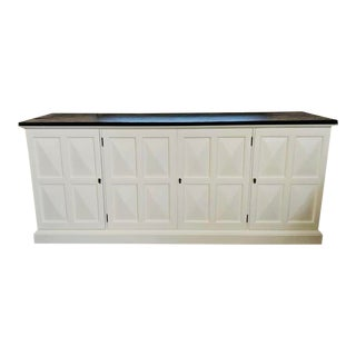 Beautiful Lacquered Henredon Console For Sale