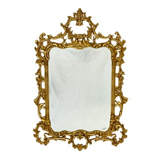 Friedman Brothers Historic Charleston Reproductions English Chippendale Style Mirror For Sale