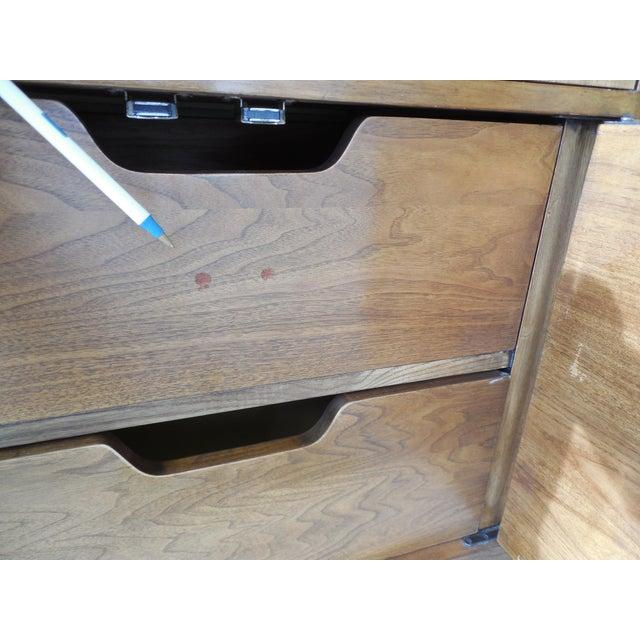 "John Stuart Campaign Style Credenza / Dresser 28.5""H x 76""W - Image 10 of 11"
