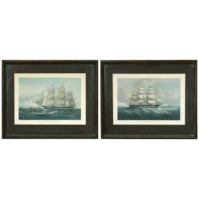 United States Packet Ship Nautical Prints - A Pair - Image 11 of 11
