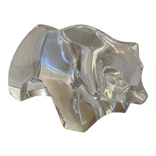 Baccarat Glass Polar Bear For Sale