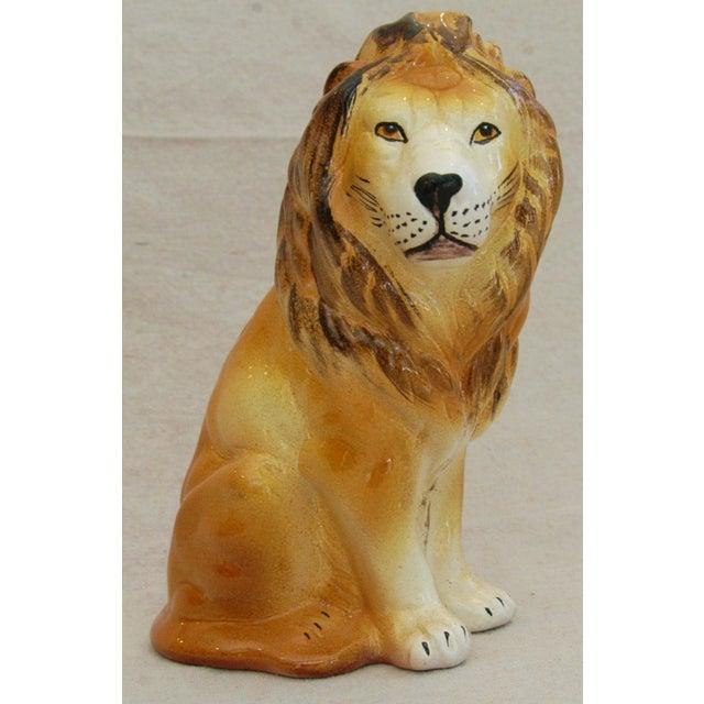 Mid-Century Italian Safari Lion - Image 2 of 8