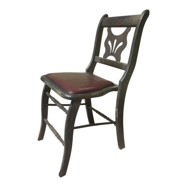 Antique Vintage Folding Theater Chair For Sale