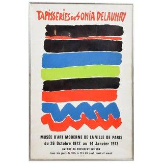 Tapisseries De Sonia Delaunay 1972 Paris Litho Poster For Sale