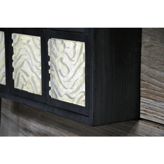 Golden Triangle Chicago Cast Glass Light Box For Sale - Image 12 of 13