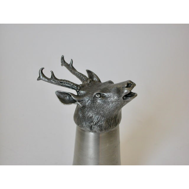 Stag Pewter Stirrup Cups - Set of 7 For Sale In Los Angeles - Image 6 of 11