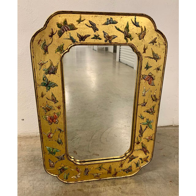 Bohemian Butterfly Wall Mirror For Sale - Image 13 of 13