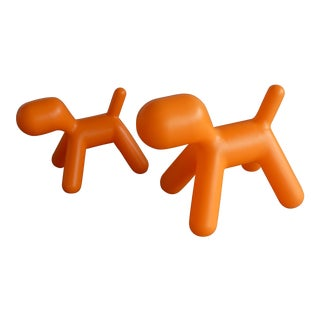 Eero Aarnio Dogs - a Unmatched - a Pair For Sale