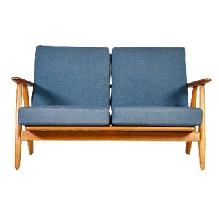 Hans J. Wegner for GETAMA GE 240 Cigar Sofa in Oak