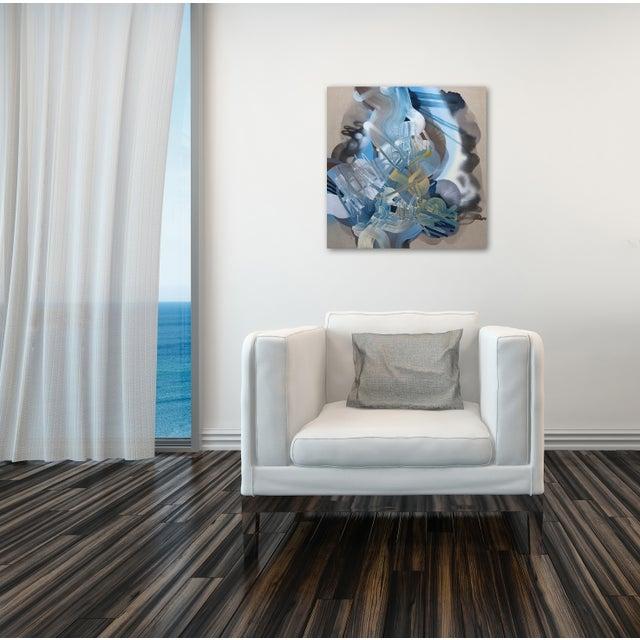 "Acrylic ""Crestfallen"" Original Artwork by Dana Oldfather For Sale - Image 7 of 10"