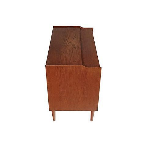 1960s Danish Teak Vanity Cabinet For Sale In Boston - Image 6 of 8