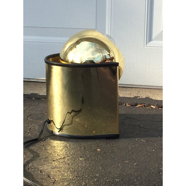Mid-Century Golden Table Lamp - Image 7 of 7