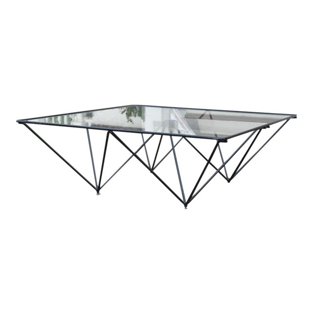 Paolo Piva Architectural Alanda Coffee Table For Sale