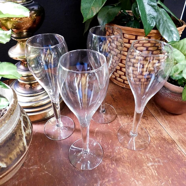 Fluted Spritzer Glasses - Set of 4 For Sale In San Francisco - Image 6 of 7