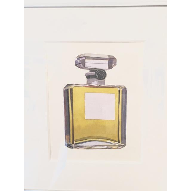 """Contemporary """"Chanel No. 5 Original Watercolor by Robert Cottingham For Sale - Image 3 of 3"""