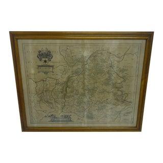 1790s Antique German Map
