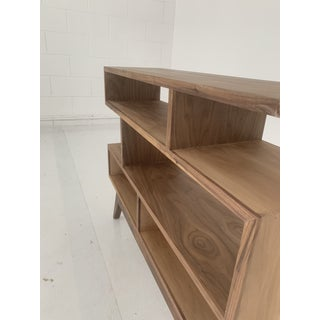 Custom Petite Staggered Shelving Unit Preview