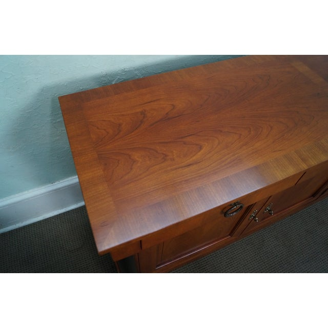 Brown Baker French Empire Style Fruitwood Sideboard For Sale - Image 8 of 10