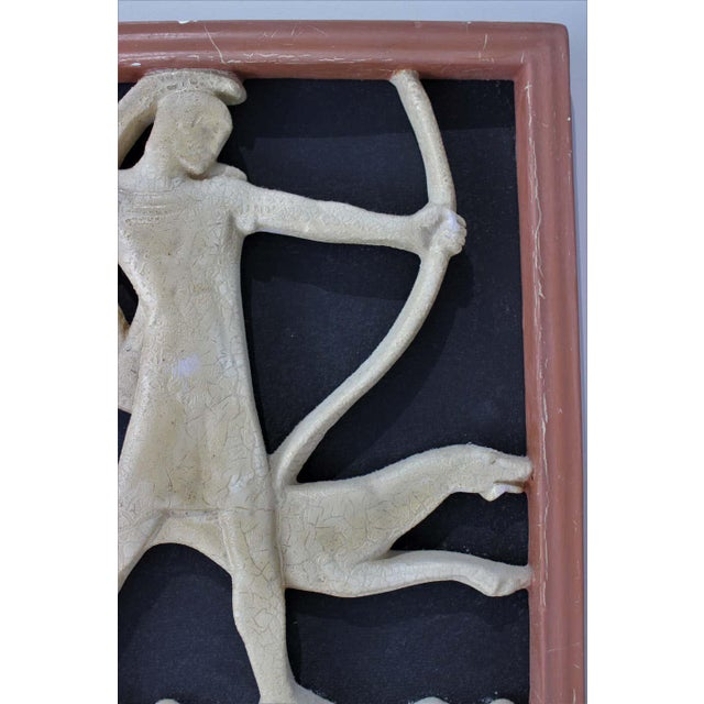 Art Deco 1920s Wall Plaques - a Set of 2 For Sale - Image 4 of 13