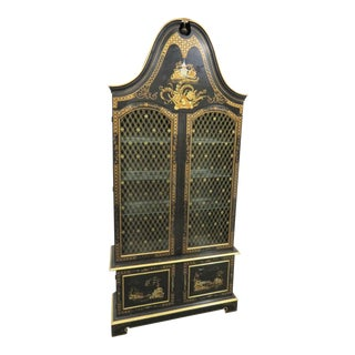 Chinoiserie Widdicomb Paint Decorated Bookcase For Sale