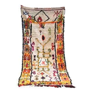 "Vintage Abdul Azilal Moroccan Rug - 3'11"" x 8'6"""
