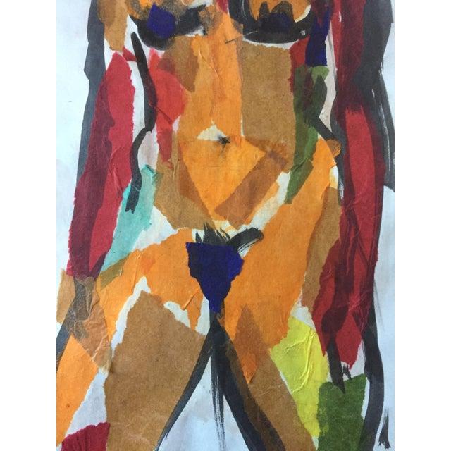 Estelle Levin Siegelaub 1960s Female Nude Collage For Sale - Image 4 of 5