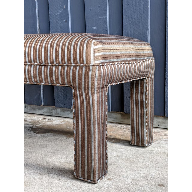 1980s Contemporary Parsons Bench For Sale In Dallas - Image 6 of 12