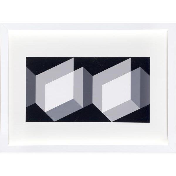 "Modern Josef Albers ""Portfolio 1, Folder 27, Image 2"" Print For Sale - Image 3 of 3"