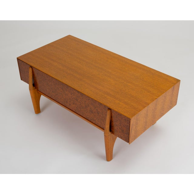 Single Bench With Storage by John Keal for Brown Saltman For Sale In Los Angeles - Image 6 of 13